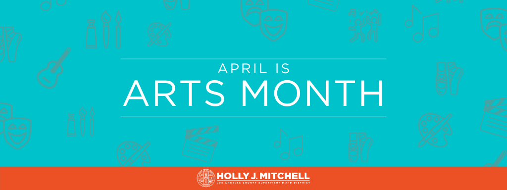Arts Month Web Banner