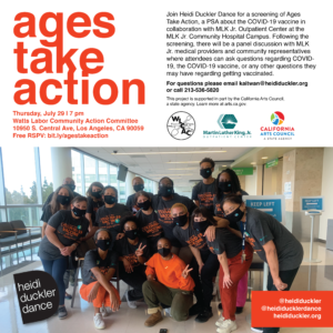 Ages Take Action Flyer