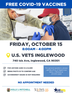 10.15.21_US VETS VACCINE CLINIC_Flyer